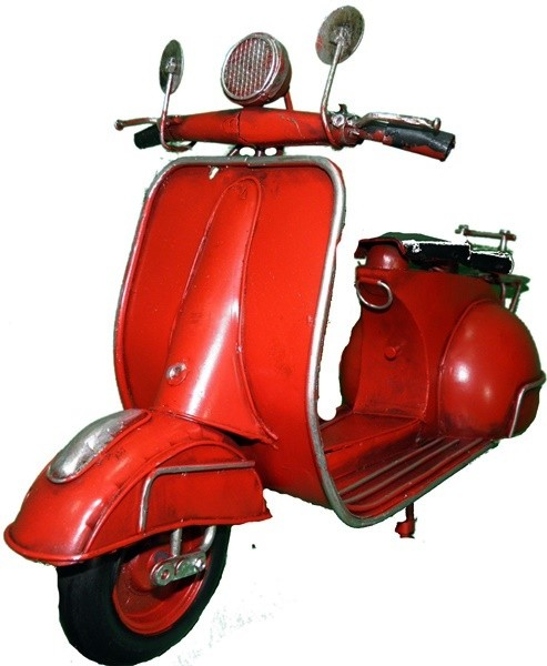 Scooter decorativo de metal(M1136)