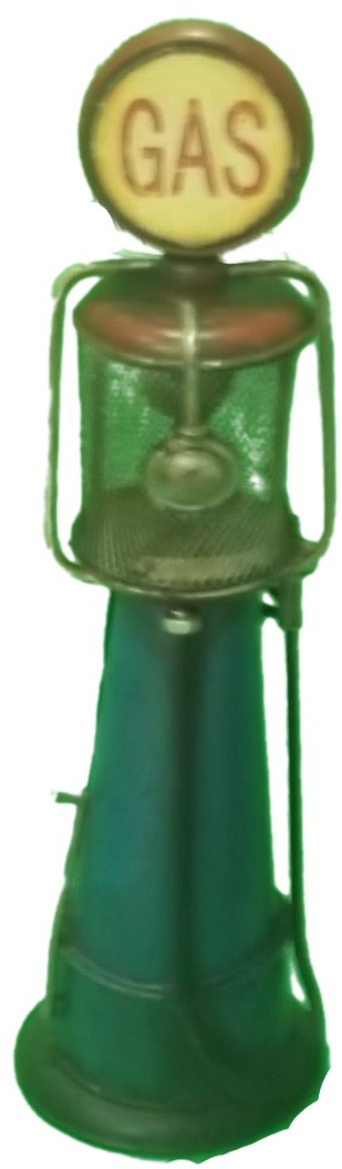 Bomba de gasolina decorativa metal(M872)